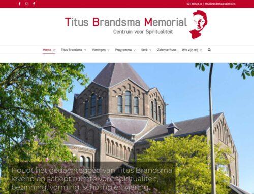 Nieuwe website Titus Brandsma Memorial gelanceerd