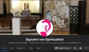 afbeelding linkt naar de facebookpagina van Signalen van Spiritualiteit