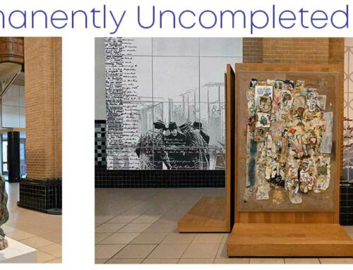 Expositie 'Permanently Uncompleted Flow'