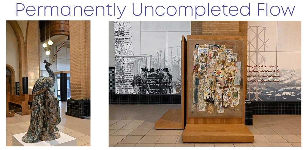 Permanently Uncompleted Flow is de titel die de expositie meekreeg die in oktober 2020 in de Titus Brandsma Gedachteniskerk te bezoeken is.