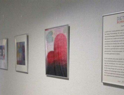 Schilderijen geïnspireerd door Dietrich Bonhoeffer