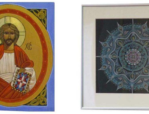 Ikonen en mandala's van Joos Streefkerk