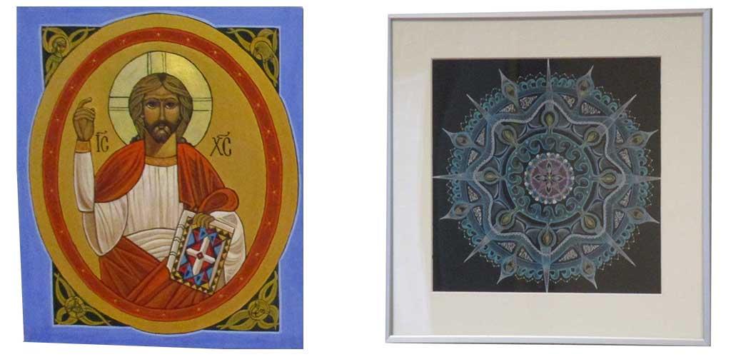 Ikonen en mandala expositie tot aswoensdag 2021 in het TBM
