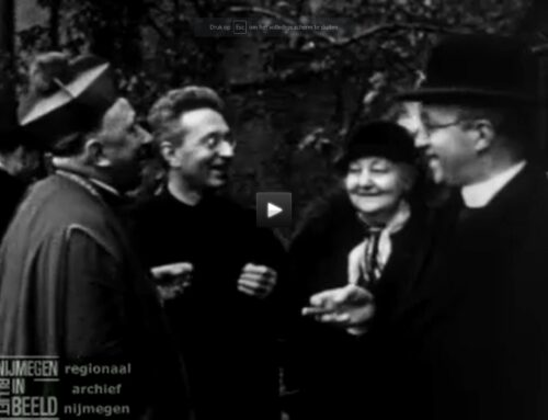 Historische videobeelden van Titus Brandsma