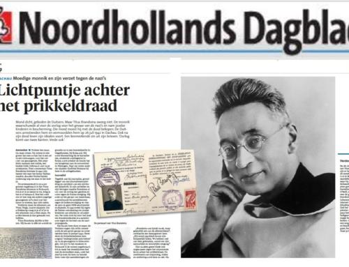 Titus Brandsma in het Noord Hollands Dagblad