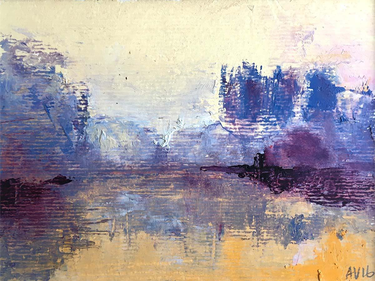 Zomerdag schilderij © Annemieke Varkevisser